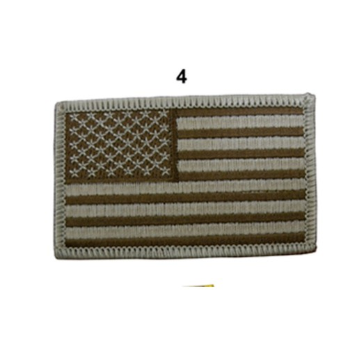 US ARMY FLAG SLEEVES GAUCHE CAMO DESERT