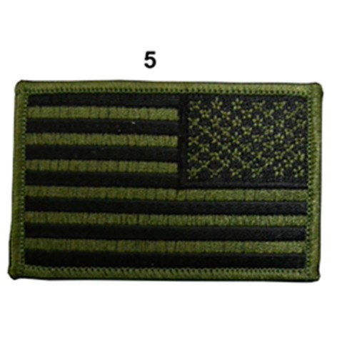 US ARMY FLAG SLEEVES DROIT FULL SUBBUED