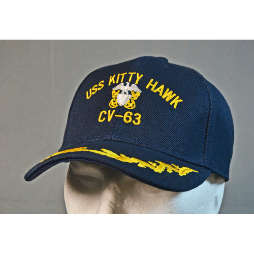 CASQUETTE MOTIF USS KITTY HAWK