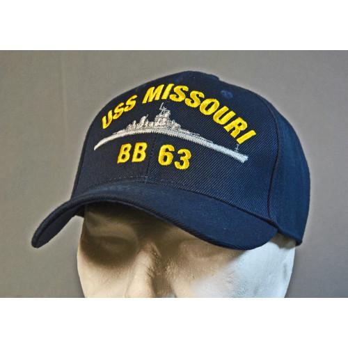 CASQUETTE MOTIF USS MISSOURI