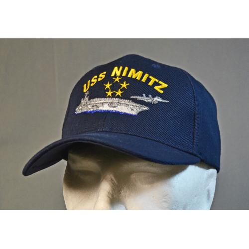 CASQUETTE MOTIF USS NIMITZ