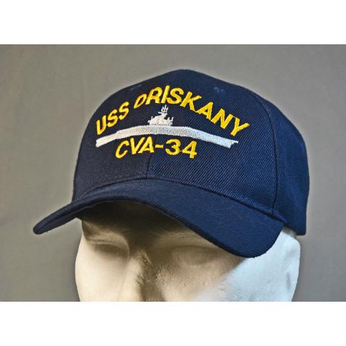 CASQUETTE MOTIF USS ORISKANI