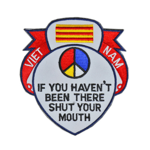 """SHUT YOUR MOUTH"" VIETNAM PATCH"