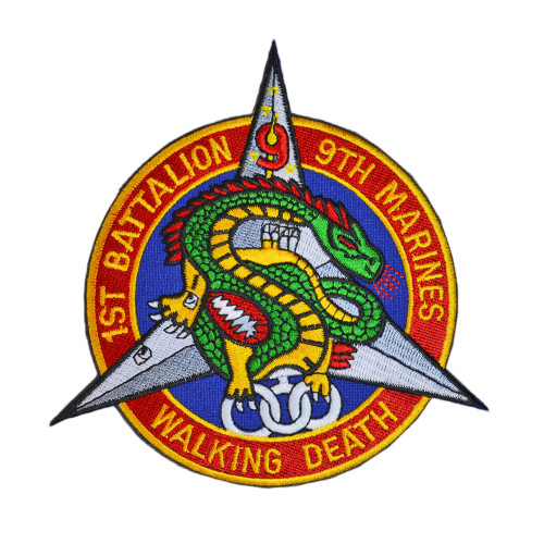 "1st BATTALION  9th MARINES ""WALKING DEATH"""