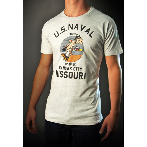 TEE SHIRT US NAVAL AIR BASE MISSOURI