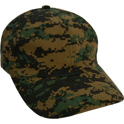 CASQUETTE TYPE BASE BALL DIGITAL WOODLAND