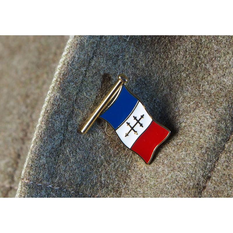 PIN's DRAPEAU FRANCE CROIX DE LORRAINE
