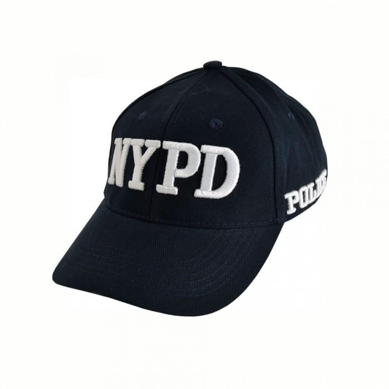 09e7a4fb980b9 EMBROIDERED CAP NYPD - Doursoux