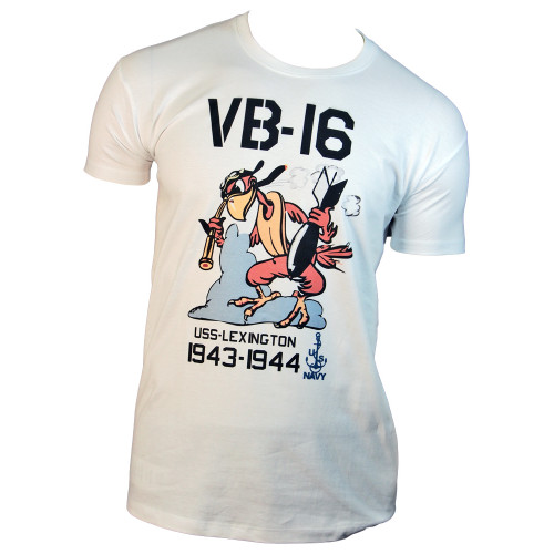 TEE SHIRT MOTIF USS LEXINGTON VB-16