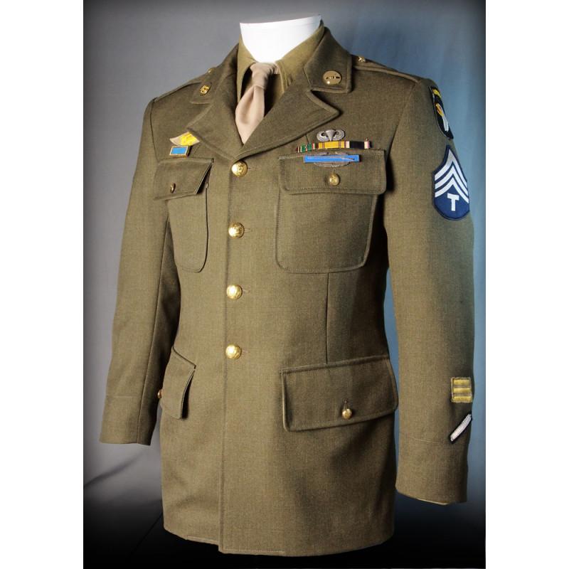 VESTE SOUS OFFICIER US ARMY WWII