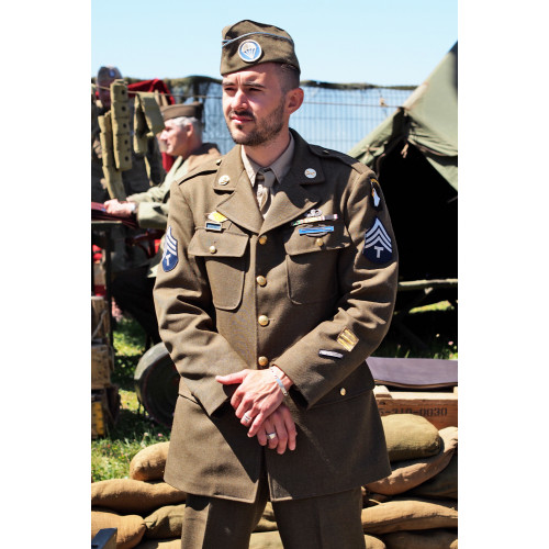 VESTE SOUS OFFICIER US ARMY WWII