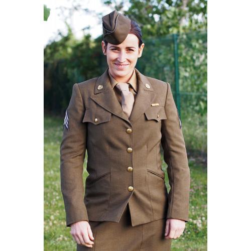 VESTE SOUS OFFICIER FEMINIME WWII