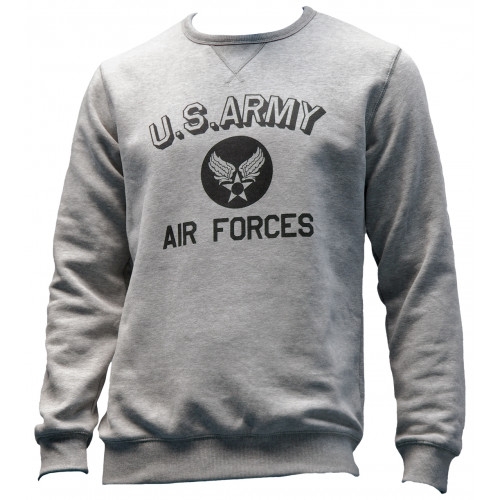 SWEAT SHIRT MOTIF U SARMY-AIR FORCES