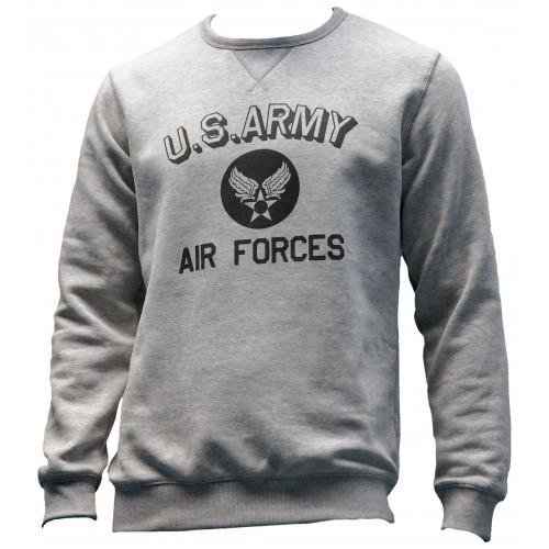 SWEAT SHIRT MOTIF U SARMY-AIR FORCES