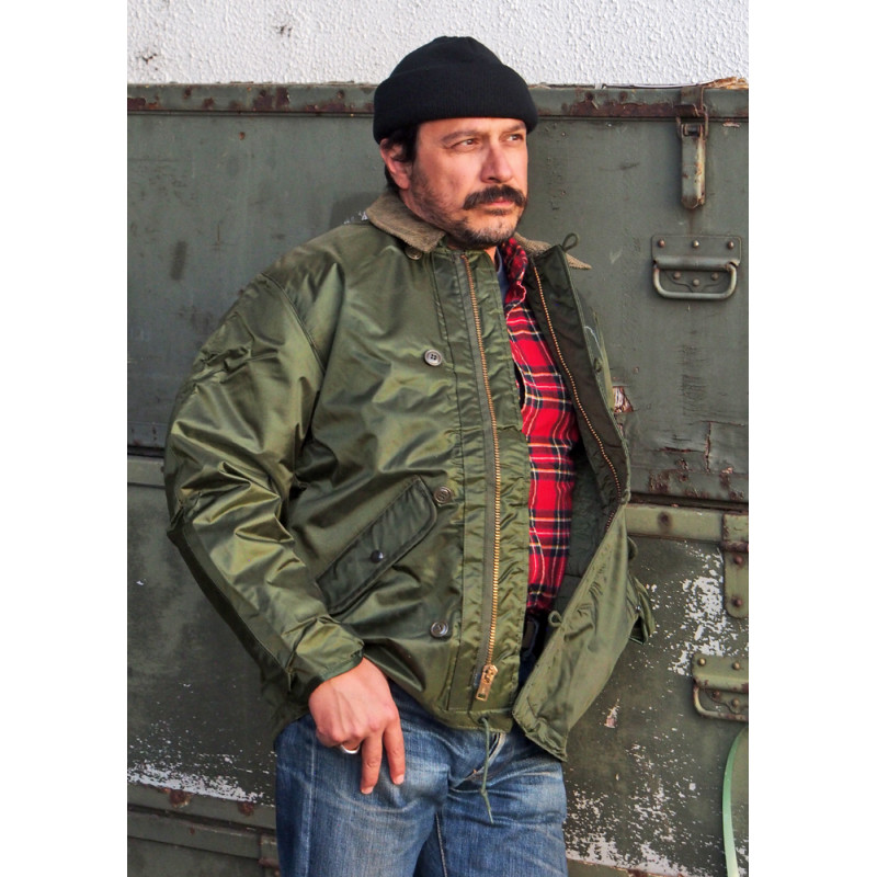 """BLOUSON USN IMPERMEABLE """"JACKET EXTREME COLD WEATHER IMPERMEABLE"""""""