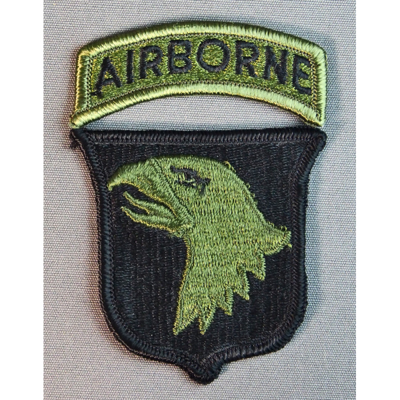 101TH AIRBORNE SUBDUED