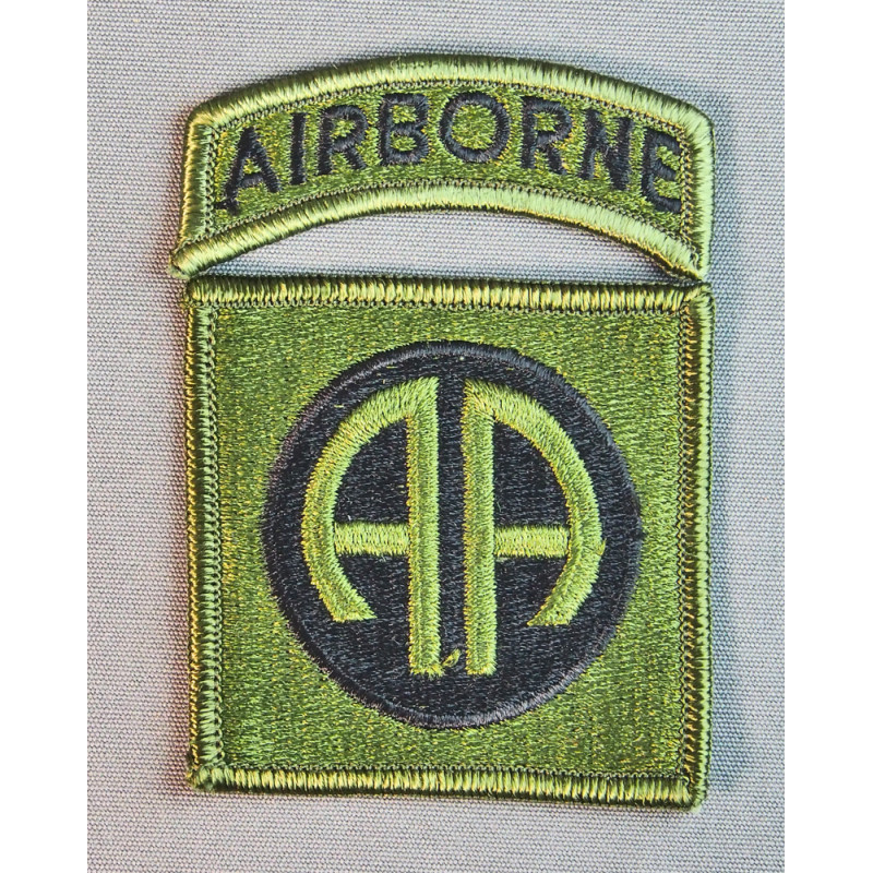 82nd AIRBORNE SUBDUED