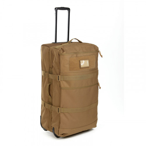 SAC A ROULETTES 120 LITRES COYOTE