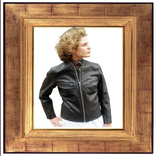 "LEATHER JACKET ""CYCLISTE"""