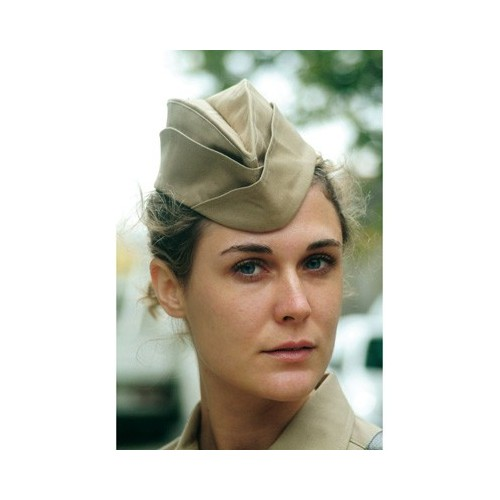 """GARRISON CAP"" WOMAN WEDGE-STYLE CAP"