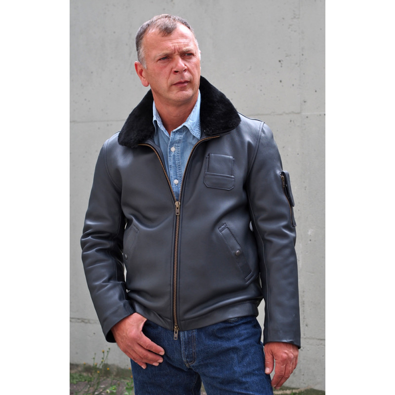 FRENCH LEATHER FLYING JACKET