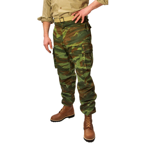 FRENCH COMBAT PANTS CAMO LIZARD