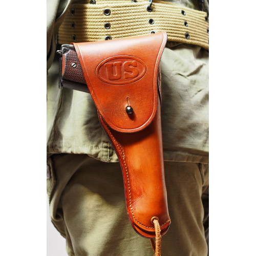 LEATHER HOLSTER COLT 45