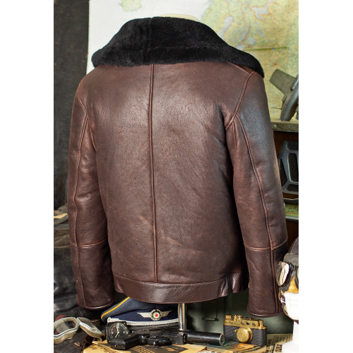 GERMAN FLIGHT LEATHER JACKET WWII
