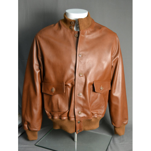 BLOUSON DE CUIR A1 LEATHER JACKET