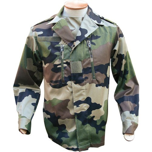 FRENCH COMBAT SHIRT F2 CAMO CE