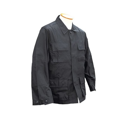 BLACK BDU SHIRT