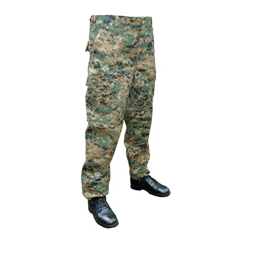 PANTALON BDU MARINE DIGITAL WOODLAND