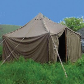 Tents, camp beds