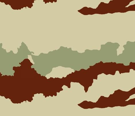 Camouflage desert daguet