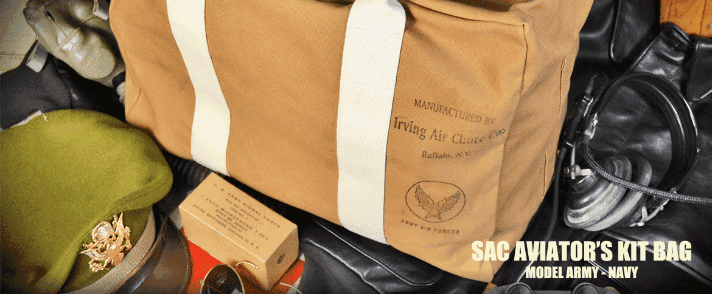 sac aviator's kit bag us model an